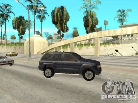 Chevrolet TrailBlazer 2003 для GTA San Andreas вид слева