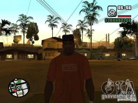 Футболка Rammstein v1 для GTA San Andreas четвёртый скриншот