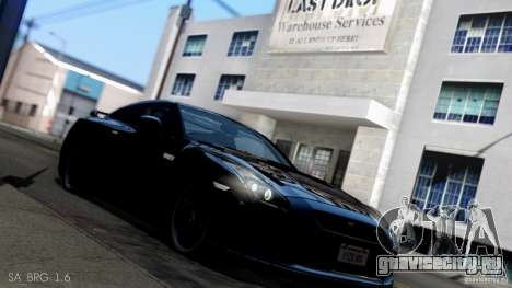 SA Beautiful Realistic Graphics 1.6 для GTA San Andreas