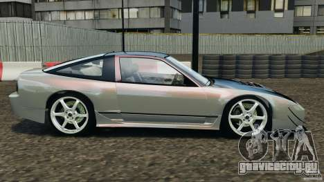 Nissan 240SX Kawabata Drift для GTA 4 вид слева
