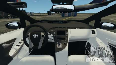 Toyota Prius NY Airport Service для GTA 4 вид сзади