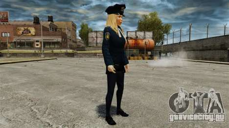 Новые девушки-полицейские v4.0 для GTA 4 пятый скриншот