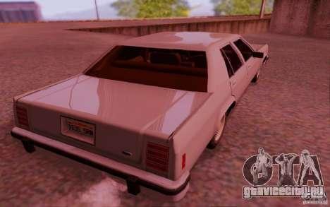 Ford Crown  Victoria LTD 1985 для GTA San Andreas вид справа