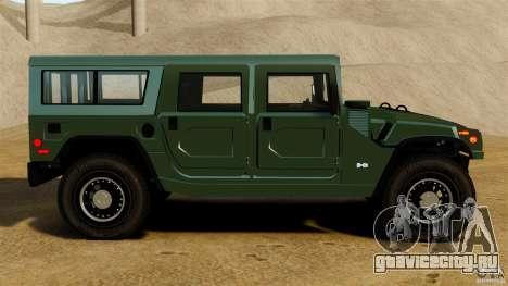 Hummer H1 Alpha для GTA 4 вид слева