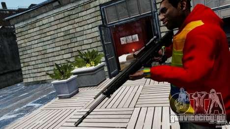 SIG SG 550 Sniper для GTA 4 второй скриншот