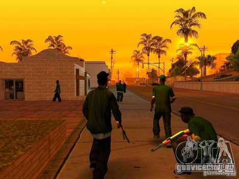 Grove Street Forever для GTA San Andreas второй скриншот