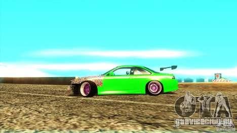 Nissan Silvia S14 для GTA San Andreas вид сзади