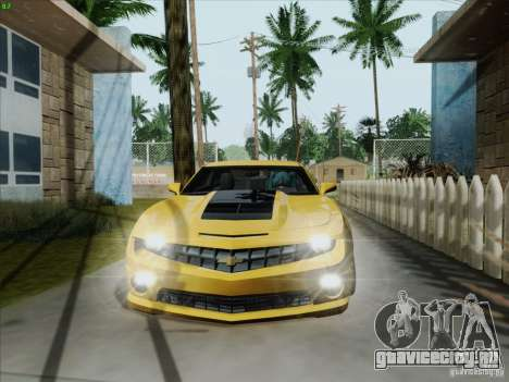 Chevrolet Camaro SS 2012 для GTA San Andreas вид слева