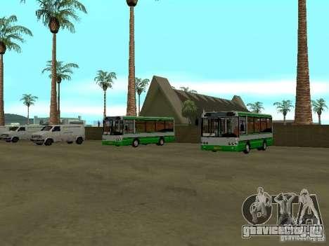 4-ый автобусный парк v1.0 для GTA San Andreas второй скриншот