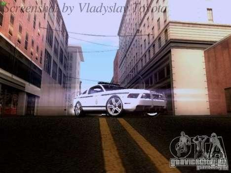 Ford Mustang GT 2011 Police Enforcement для GTA San Andreas