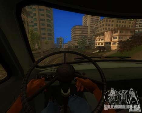 УАЗ 330364 для GTA San Andreas вид сзади