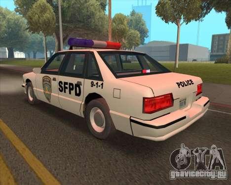 Updated SFPD для GTA San Andreas вид справа
