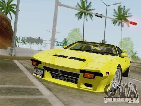 De Tomaso Pantera GT4 для GTA San Andreas вид слева