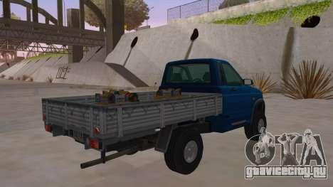 УАЗ-2360 для GTA San Andreas вид справа