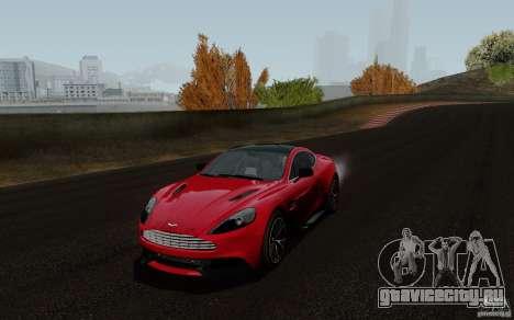 Aston Martin Vanquish 2012 для GTA San Andreas
