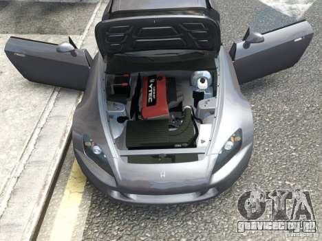 Honda S2000 2004 для GTA 4 вид сзади слева
