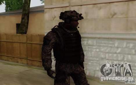 Сержант Фоули из CoD: MW2 для GTA San Andreas второй скриншот
