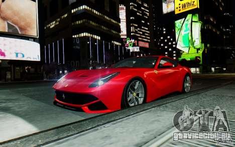 Ferrari F12 Berlinetta 2013 [EPM] для GTA 4 вид сзади