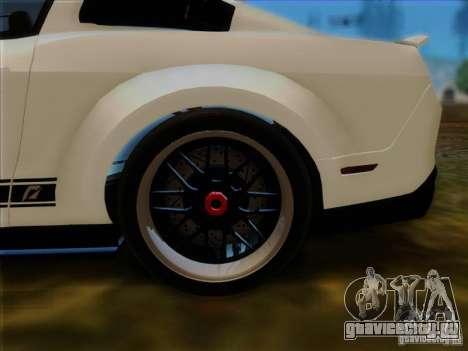 Ford Shelby GT500 SuperSnake NFS The Run Edition для GTA San Andreas вид сзади