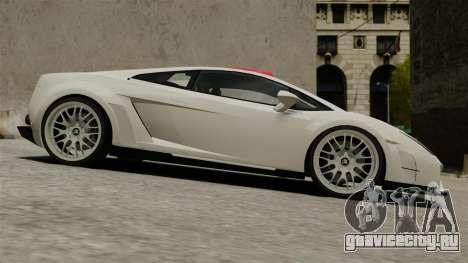 Lamborghini Gallardo Victory II 2010 HAMANN для GTA 4