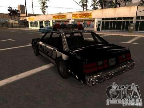 Police VC для GTA San Andreas вид сзади слева