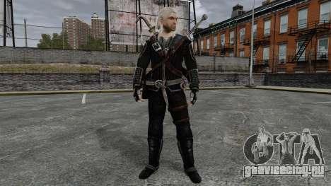 Геральт из Ривии v8 для GTA 4