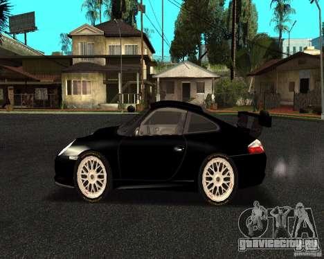 Porsche 911 GT3 RS для GTA San Andreas вид слева