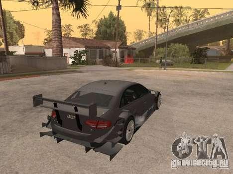 Audi A4 Touring для GTA San Andreas вид сзади