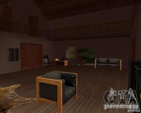 Вилла в Рыбацкой лагуне для GTA San Andreas седьмой скриншот