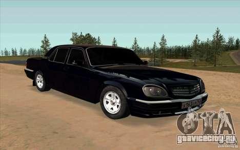 ГАЗ 31105 Рестайлинг для GTA San Andreas