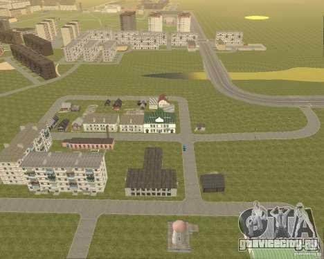 Новый район Поле Чудес для GTA San Andreas второй скриншот