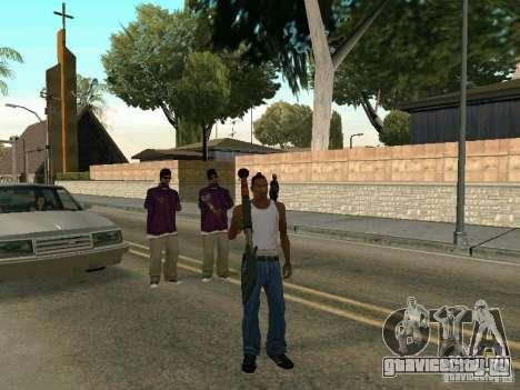 Лопатомёт для GTA San Andreas третий скриншот