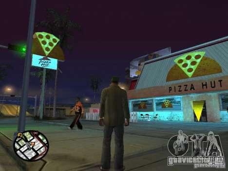 Новые текстуры забегаловок для GTA San Andreas седьмой скриншот
