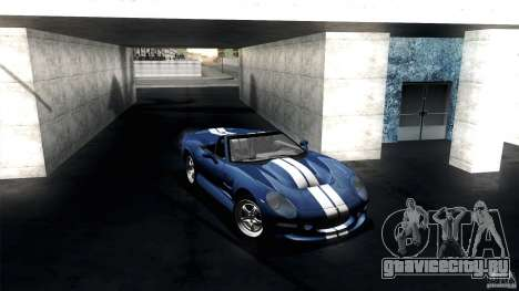 Shelby Series 1 1999 для GTA San Andreas вид сзади