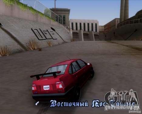 Fiat Tempra 1998 Tuning для GTA San Andreas вид сбоку