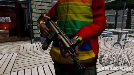 SCAR-L для GTA 4 четвёртый скриншот