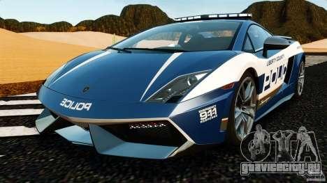 Lamborghini Gallardo LP570-4 Superleggera Police для GTA 4