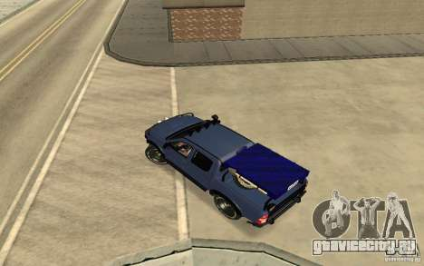 Toyota Hilux Rally Version для GTA San Andreas вид сзади слева
