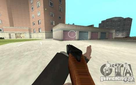 Новая анимация стрельбы  из GTA IV для GTA San Andreas восьмой скриншот