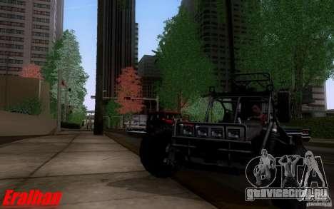 Desert Patrol Vehicle для GTA San Andreas вид слева