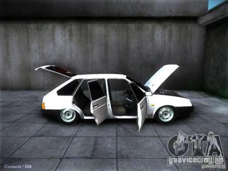 ВАЗ 2109 Ростов для GTA San Andreas двигатель