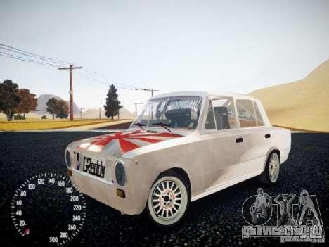 ВАЗ-2101 Drift Edition для GTA 4 вид сзади