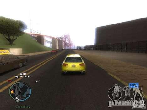 Электронный спидометр для GTA San Andreas седьмой скриншот