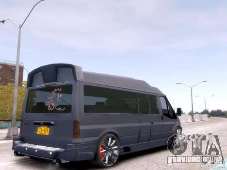 Ford Transit Sport Edition RV 2013 для GTA 4 вид слева