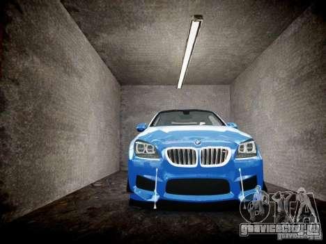 BMW M6 2013 для GTA 4 вид сбоку