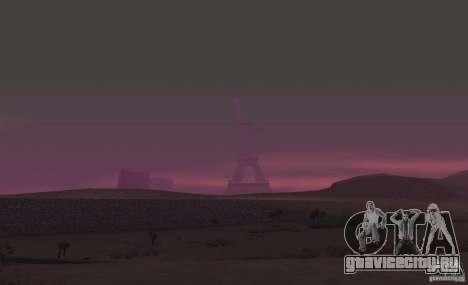 Эйфелева Башня из Call of Duty Modern Warfare 3 для GTA San Andreas четвёртый скриншот
