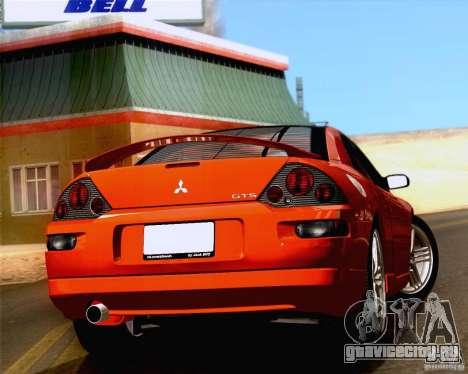 Mitsubishi Eclipse GTS 2003 для GTA San Andreas вид сзади слева