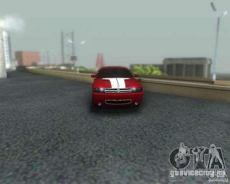 ENBSeries for medium PC для GTA San Andreas восьмой скриншот
