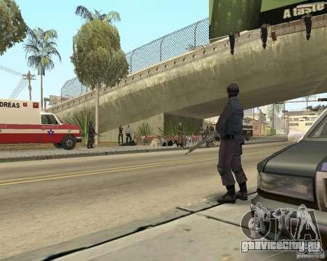 Место преступления (Crime scene) для GTA San Andreas третий скриншот