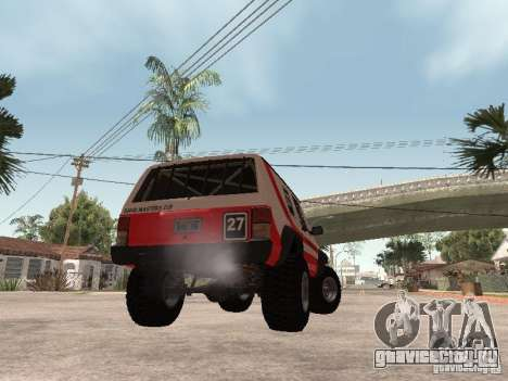 Jeep Cherokee 1984 для GTA San Andreas вид справа